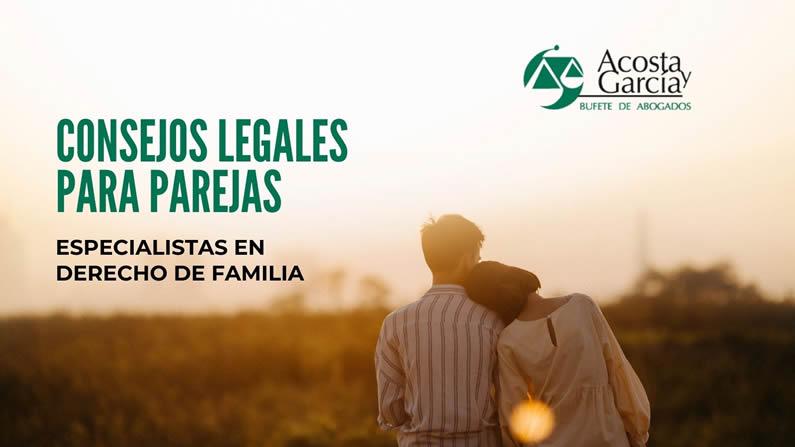 Consejos legales para parejas